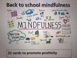 Back to school mindfulness