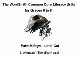The WordSmith Common Core Literacy Units for Grades 6-8 (9)