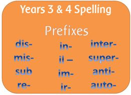 Anti prefix worksheet