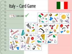 Italy - Card Game