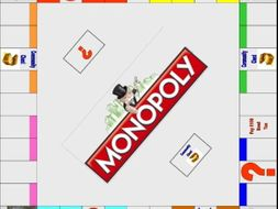 Monopoly Board Template By Swift Sonya