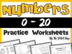Number tracing 0 20 worksheets by kiranashraf006 teaching number tracing 0 20 worksheets ibookread Download
