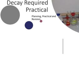 Decay Required Practical Lesson