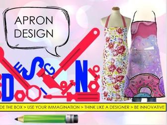 Apron Design - Cover Lesson - Textiles