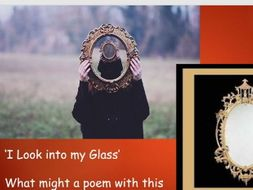 'I Look into My Glass' - Thomas Hardy Unseen Poetry