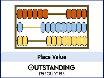Number: Place Value (+ worksheet)