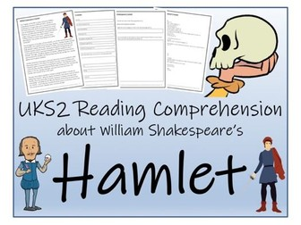 UKS2 Literacy - Hamlet Reading Comprehension Activity