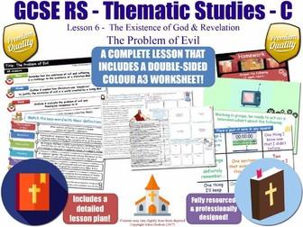 The Problem of Evil [GCSE RS - Existence of God & Revelation - L6/10] - Theme C