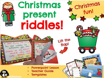 Christmas Poems:  Riddles