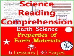 Earth Science Reading Comprehension | Properties of Earth Materials | Grade 3-4