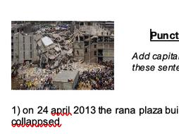 Punctuation Correction - Rana Plaza Building Collape