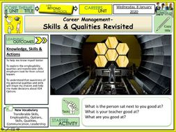 Careers - Skills and Qualities