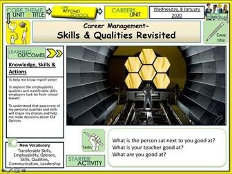 Careers - Skills and Qualities