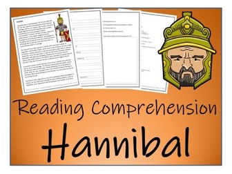 UKS2 History - Hannibal Reading Comprehension Activity