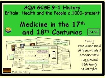 Medicine in the 17th and 18th Centuries