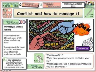 Conflict + Relationships