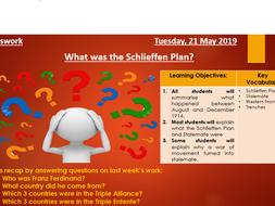 What was the Schlieffen Plan?