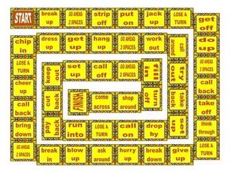 Phrasal Verbs Board Game 2