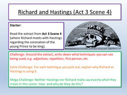 Richard III Act 3 Scene 4