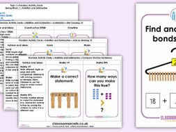 Year 1 Addition and Subtraction Spring Block 1 Continuous Provision Activities