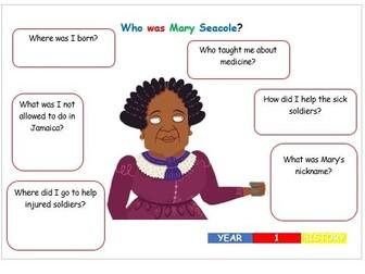 KS1 History - Mary Seacole