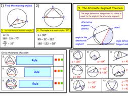 Circle Theorems (ppt)   Teaching Resources