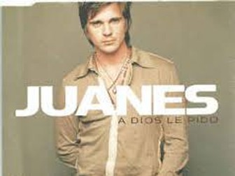 Present Subjunctive With The Song A Dios Le Pido From Juanes By AnnaPueyo