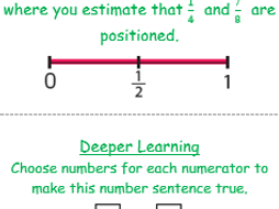 Year 5 Greater Depth/Mastery stickers for next steps, challenge and assessment