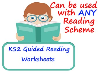 KS2 Guided Reading Worksheets For Any Reading Scheme.