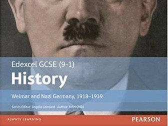 Strengths and weakness of the Weimar constitution - Edexcel GCSE (9-1)