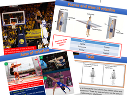 Planes and Axes of Movements - Edexcel GCSE PE (9-1)