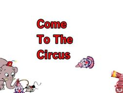 Come To The Circus - Total Song Pack