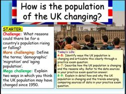 UK Population  - Edexcel Citizenship