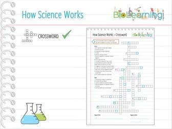 How Science Works (HSW) - Crossword (KS3/KS4)