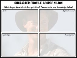 'Of Mice and Men' character profiles