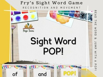 Fry's Sight Words PPT Game TOP 50 [1]