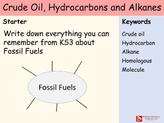 AQA Chapter 7 (Hydrocarbons) - Lesson 1 - Crude Oil