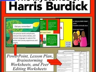 Harris Burdick Writing a Narrative Lesson