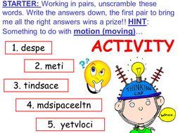 Vectors and scalars.  Physics.  KS4 (new GCSE 9 - 1).