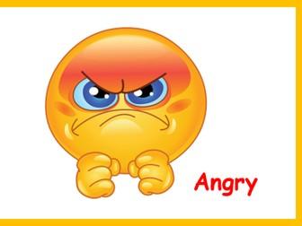 Emoticon Emoji feelings cards