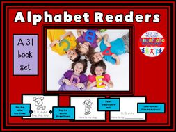 Alphabet Books A-Z Readers - Letter Sounds