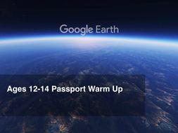 Google Earth Education: 8th Grade Warm Up #GoogleEarth