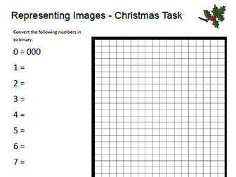 Computer Science Christmas Worksheet Bundle by moggga