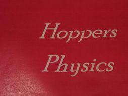 Lesson starters bundle hoppers physics