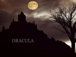 Bram Stoker's Dracula: Scheme of Work, brief lesson plans, activities and resources.
