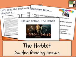 English- The Hobbit- Whole-Class Guided Reading