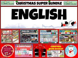 English Christmas 2020 Super Bundle