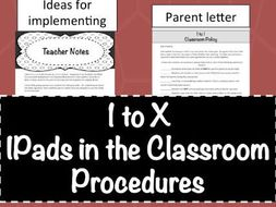 1toX- Personal devices in the Classroom