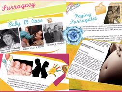 Surrogate Pregnancy Law ~ Contracts ~ IVF ~ Family Law + Quiz + Flashcards = 61 Slides