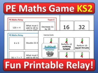 PE Game (Maths)